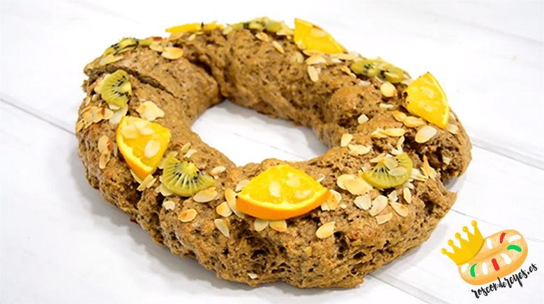 receta de roscon de reyes proteico