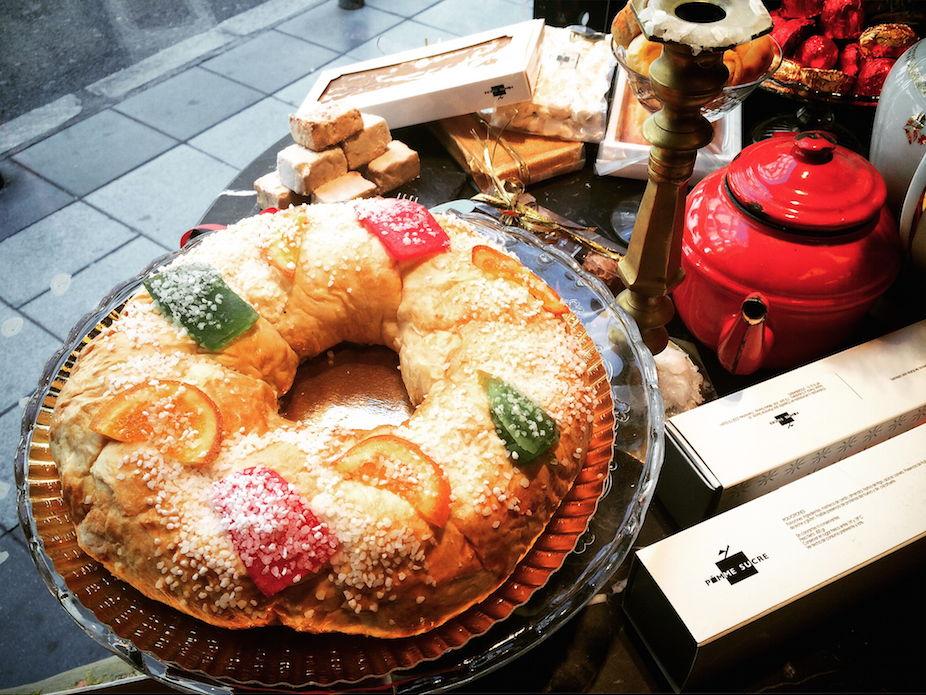 pomme sucre roscon de reyes
